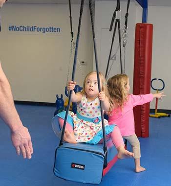 WRTS Edwardsville/ Bostler Swing/ Sensory Safe Equipment/ Autism