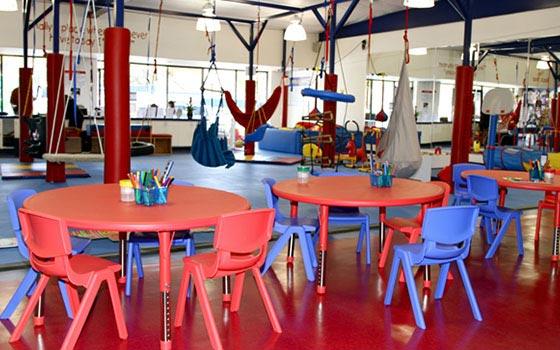 WRTS Edwardsville/ Gym for All Kids/ Sensory Safe Equipment/ Crafts/ Painting