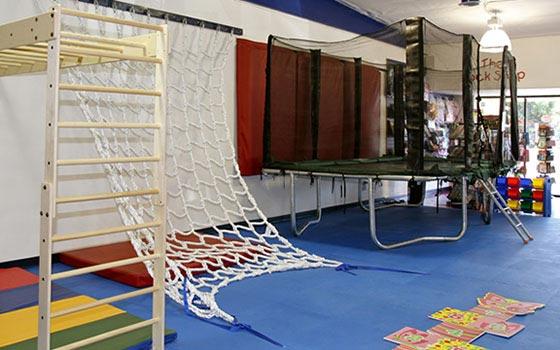 WRTS Edwardsville/ Sensory Safe Equipment/ Trampoline/ Ladder